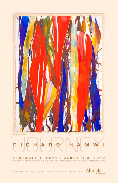 Journey by Richard Hamwi 2012 gallery poster