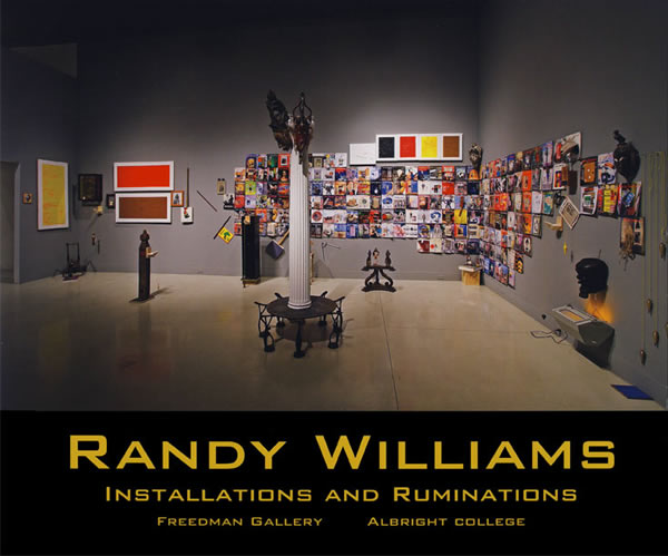 Event Poster for Randy Williams Installations and Ruminations